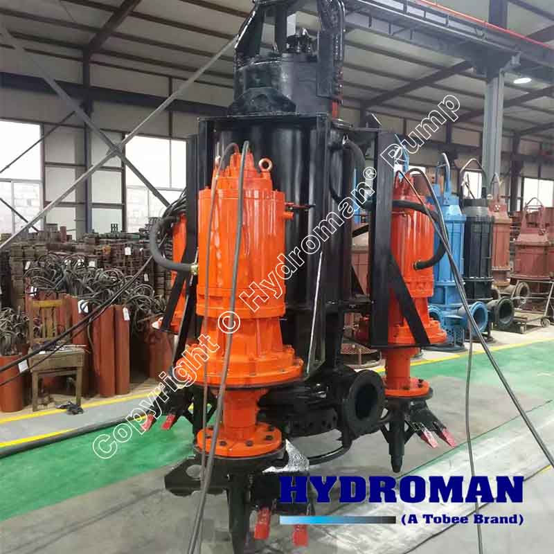 Submersible Slurry Pump with Side Agitators