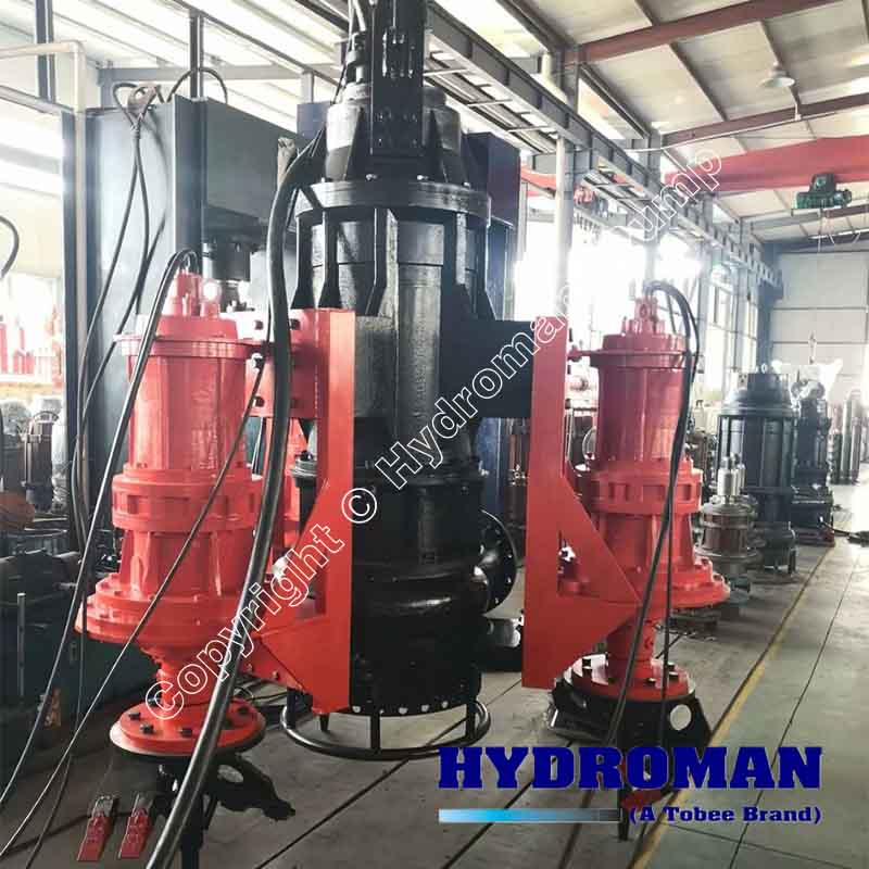 Submersible Slurry Pump with CutterHeads