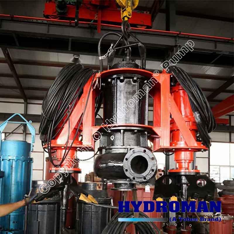 Dragflow Submersible Dredge Pumps