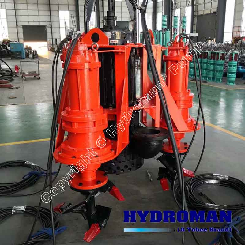 Submersible Dredge Pump with CutterHeads