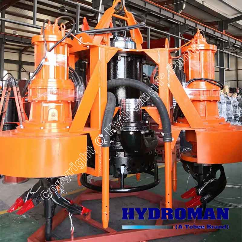Dredge Pump with Excavators