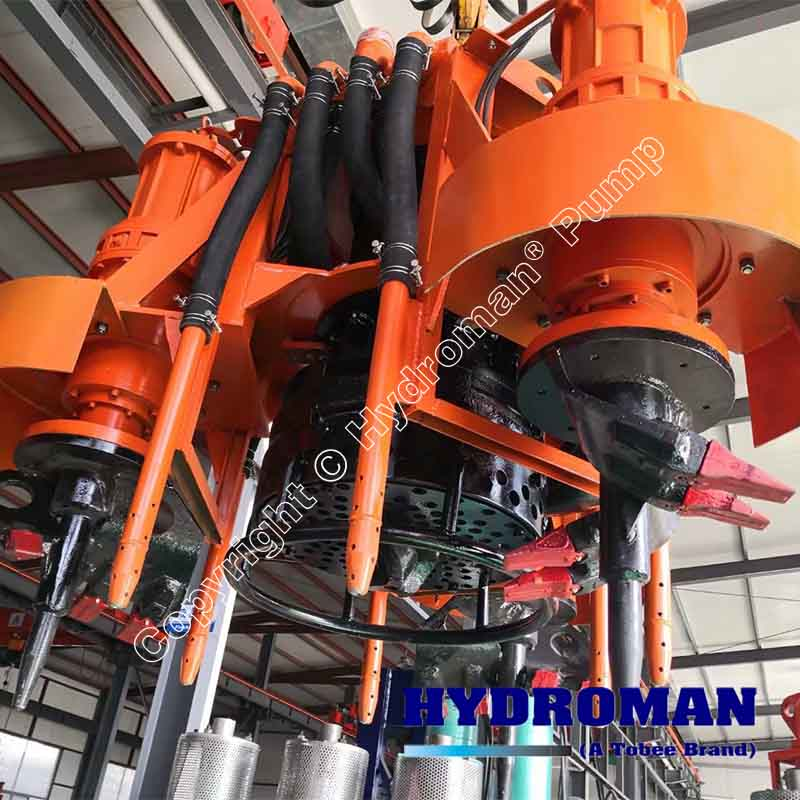 Excavating Dredge Submersible Pump