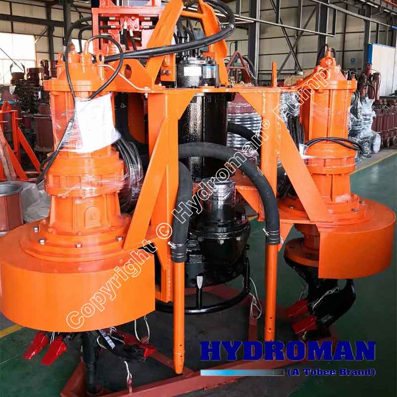 Heavy Duty Submersible Dredging Pumps