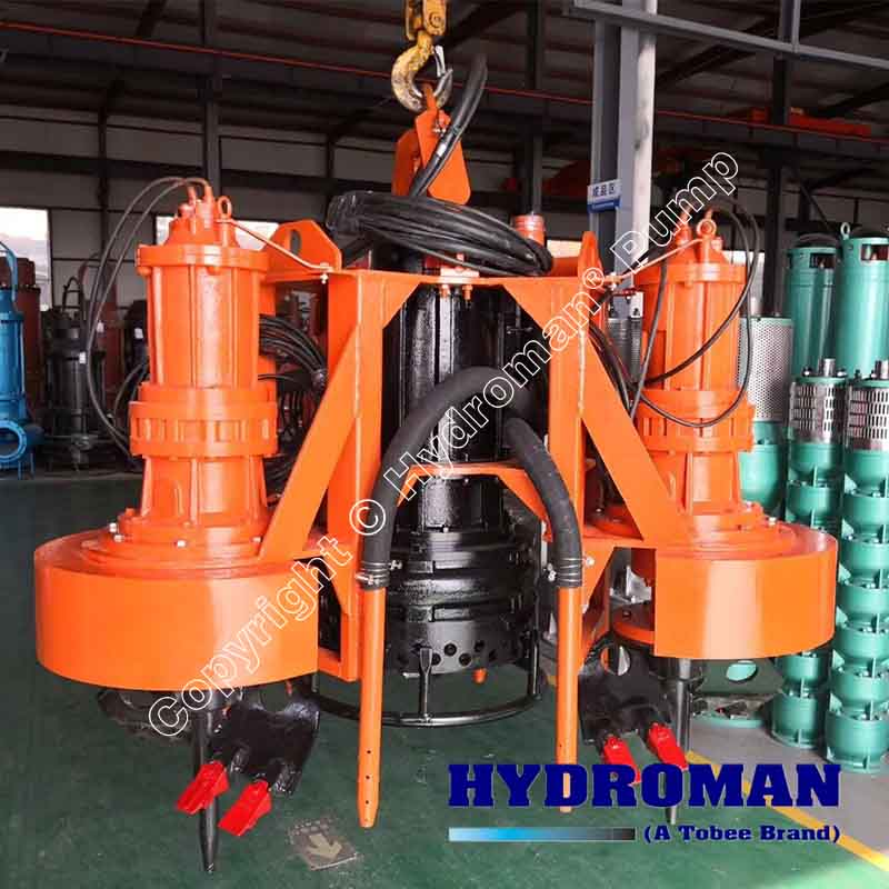 Submersible Dredging Pump with Excavators