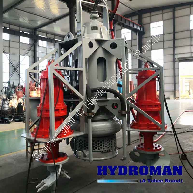 Submersible Atitator Dredge Pumps