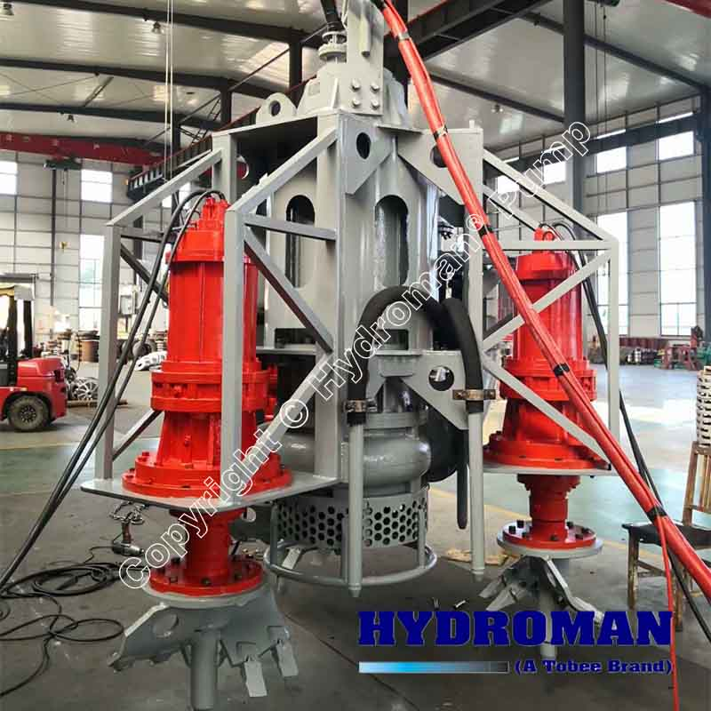 Submersible Dredge Dewatering Pump