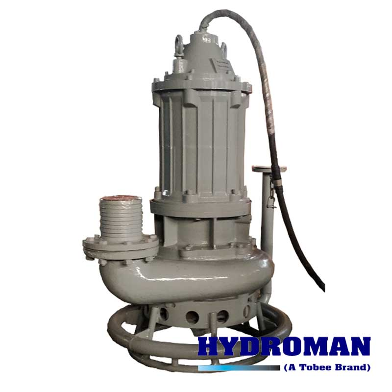 Submersible Pump with Jet Ring