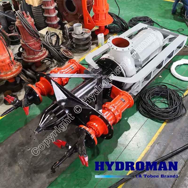 Excavating Submersible Slurry Pumps