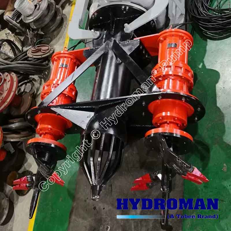 Excavating Submersible Dredge Pump