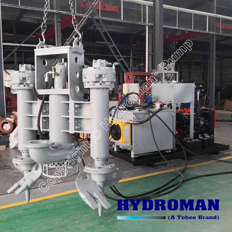 Hydraulic Power Pack Driven Slurry Pumps