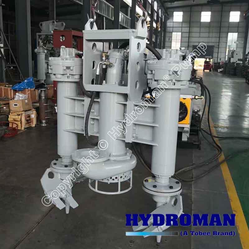 Hydraulic Slurry Pump with Hydraulic Power Pack