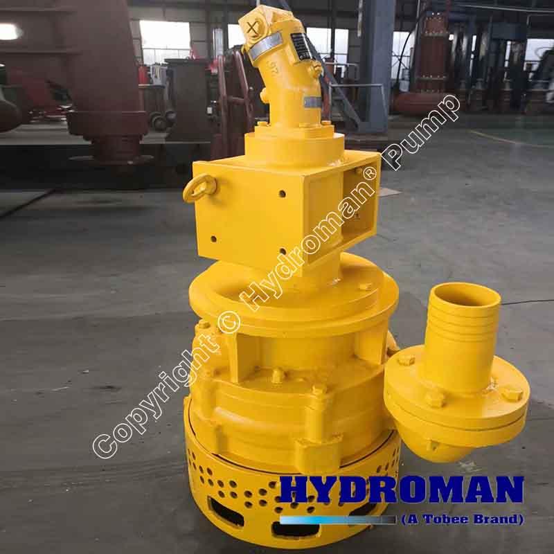 Hydraulic Submersible Heavy Duty Slurry Pump
