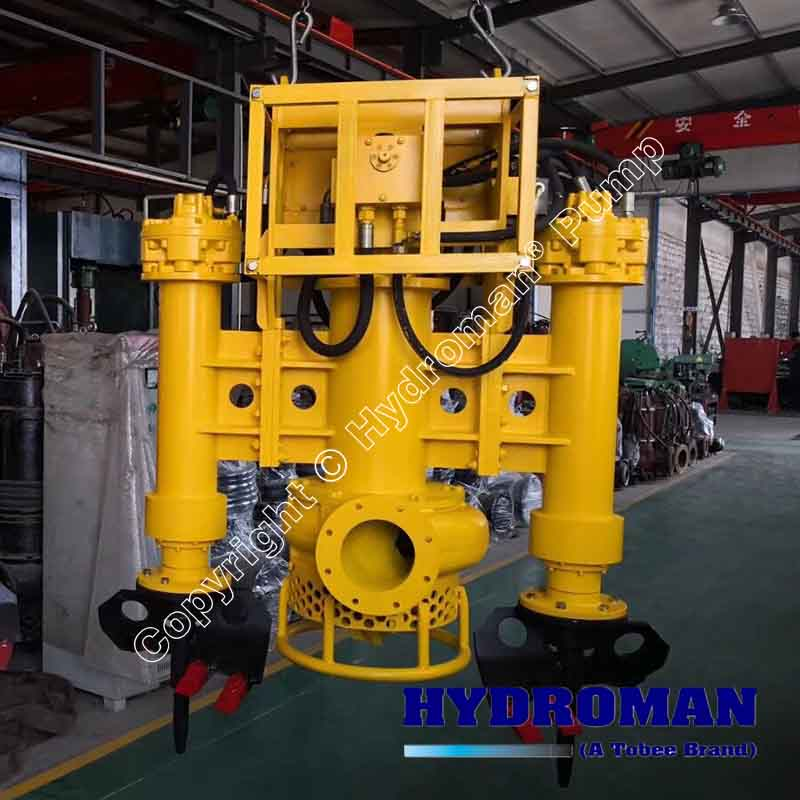Excavator Mounted Submersible Slurry Pump