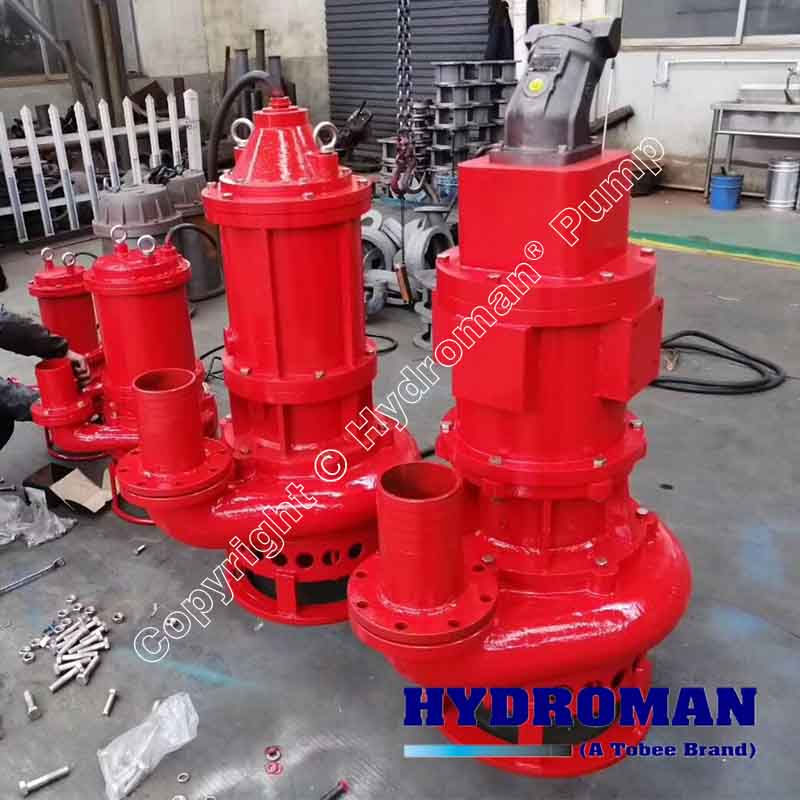 Excavator Submersible Hydraulic Slurry Pump China