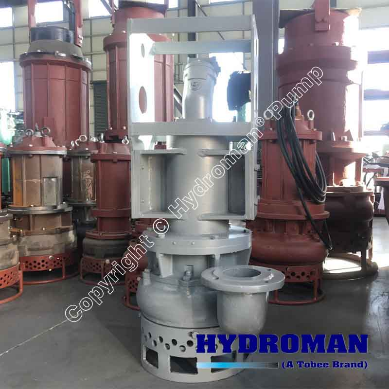 China Hydraulic Submersible Slurry Pumps