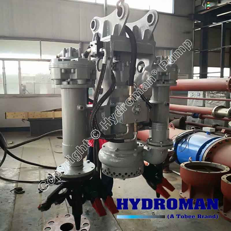 Submersible Slurry Pump with Side Cutters