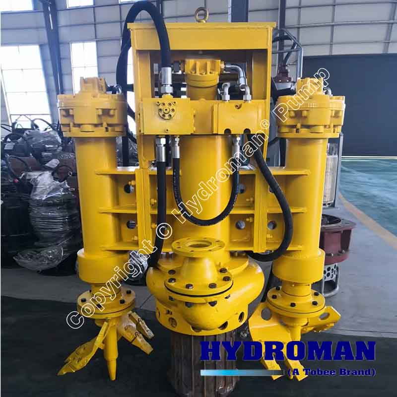 Hydraulic Submersible Slurry Pump with Agitators