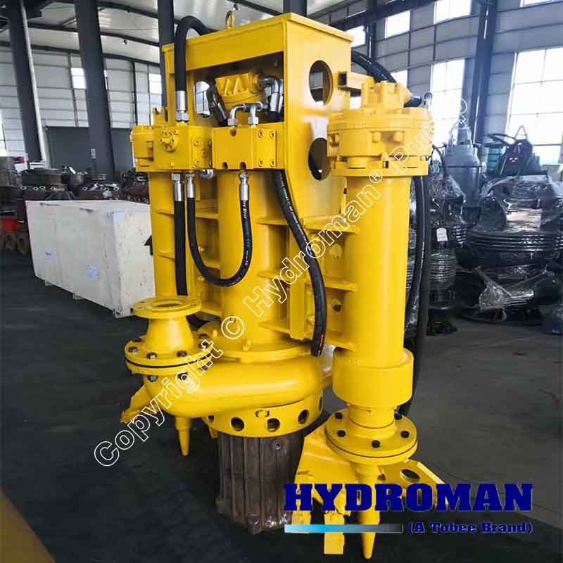 Hydraulic Pump with Agitators