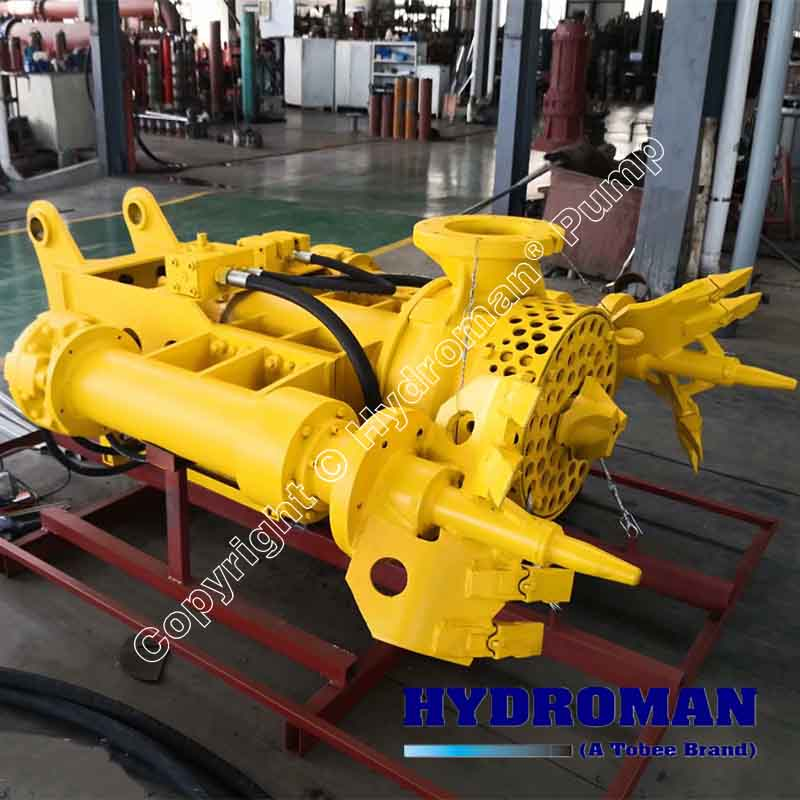 Hydraulic Submersible Pump with Agitators