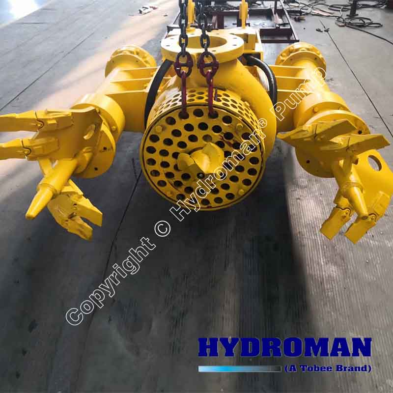 Hydraulic Slurry Pump with Side Agitators