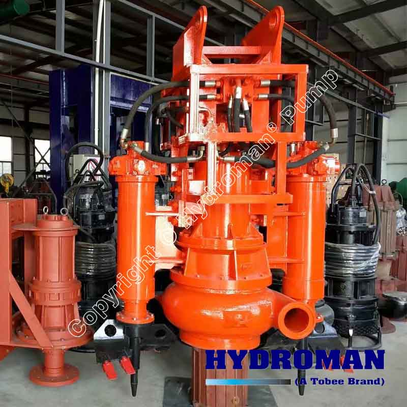 China Submersible Hydraulic Sand Pump