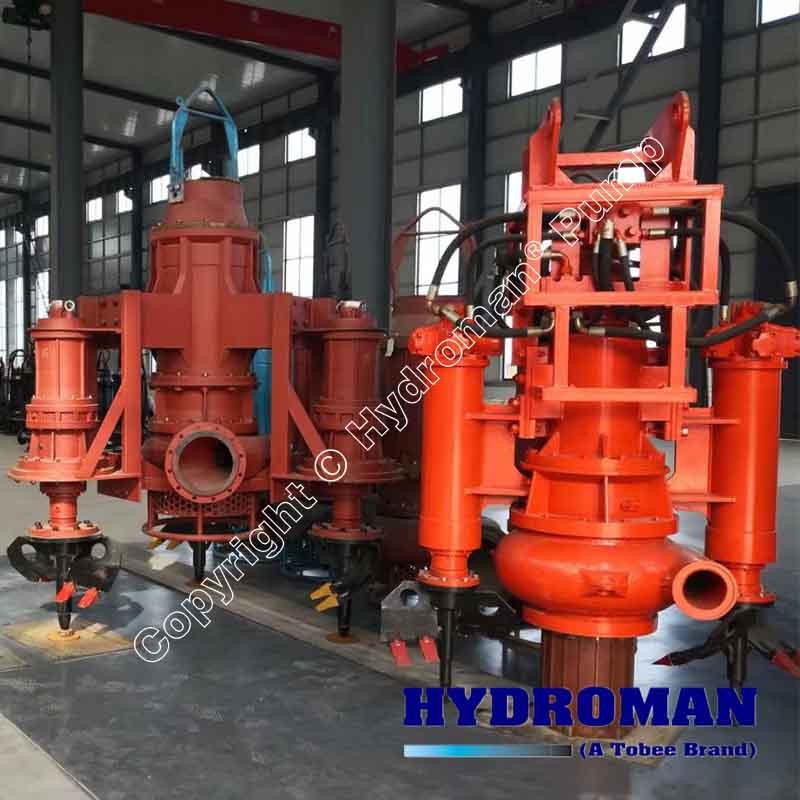 Hydraulic Power Submersible Sand Pump