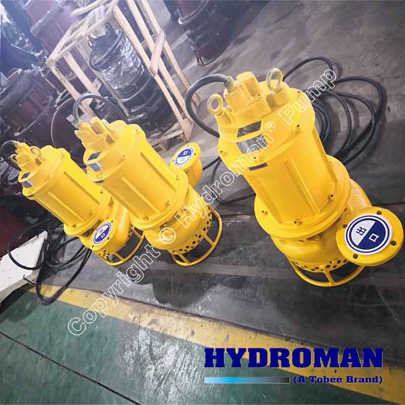 Submesible Dredge Pumps