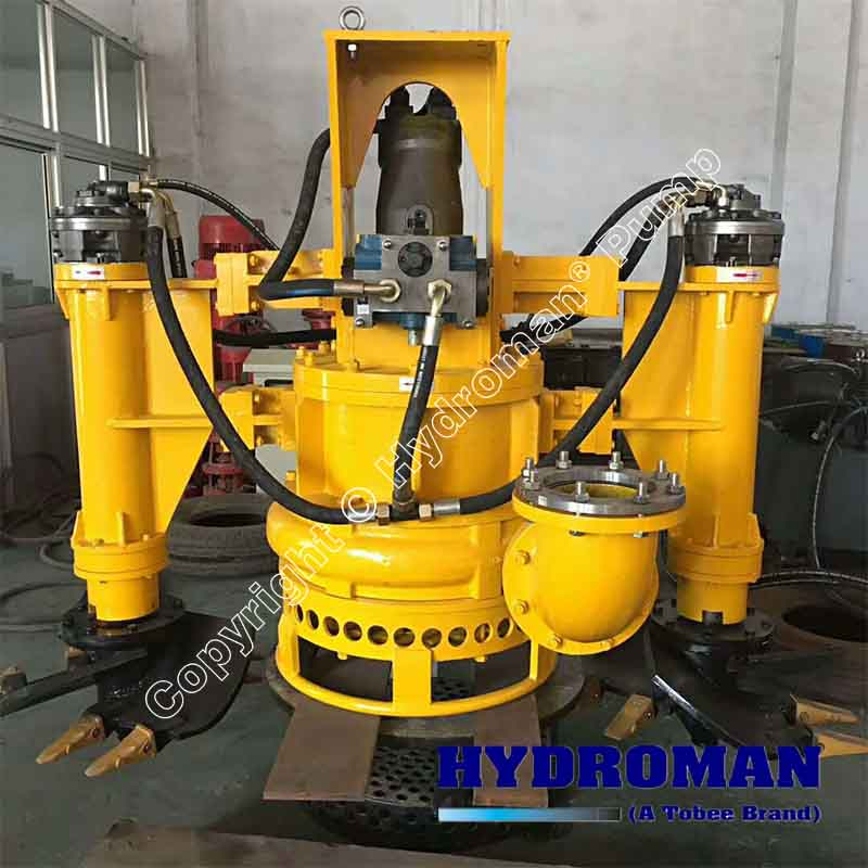 Excavator Mounted Hydraulic Dredge Pump