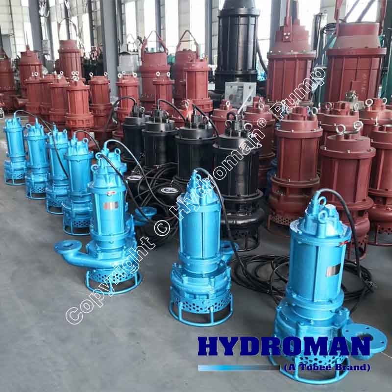 Toyo Submersible Sand Pumps