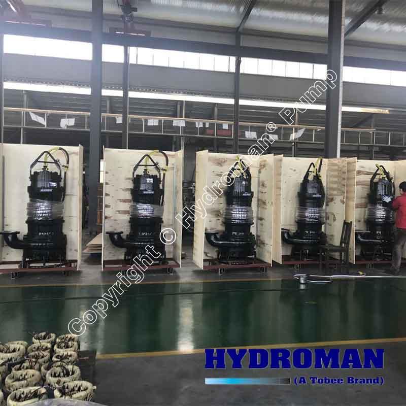Heavy Duty Submersible Sand Dredging Pumps