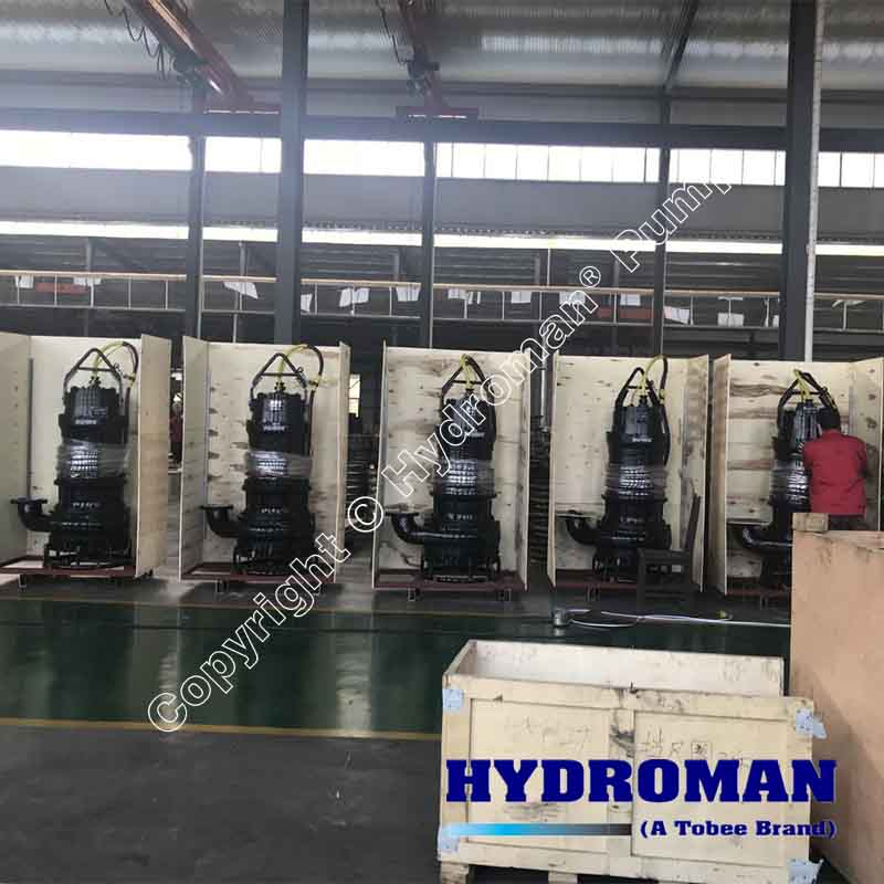 Heavy Duty Submersible Dredging Sand Pump