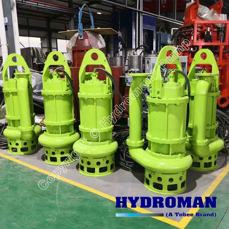 Submerisble Solids Agitator Pump