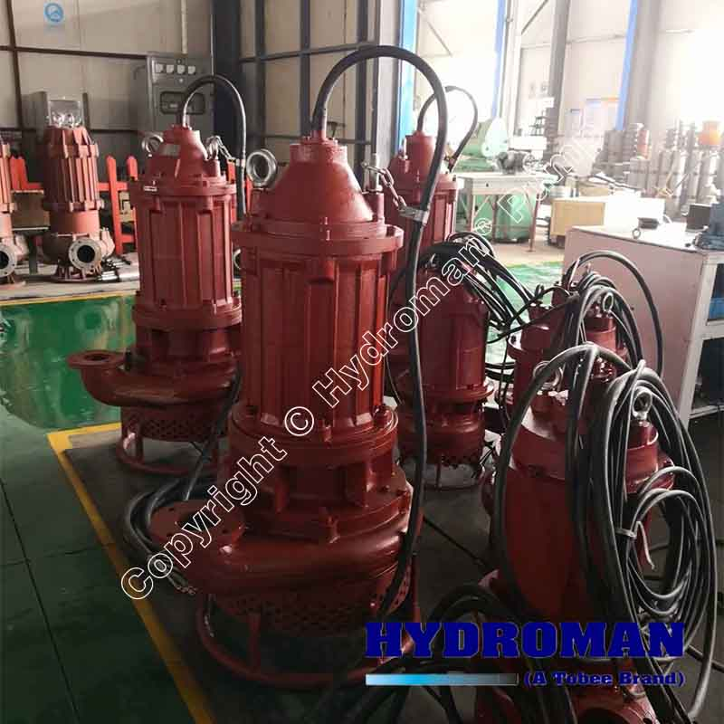Submersible Agitator Slurry Pumps