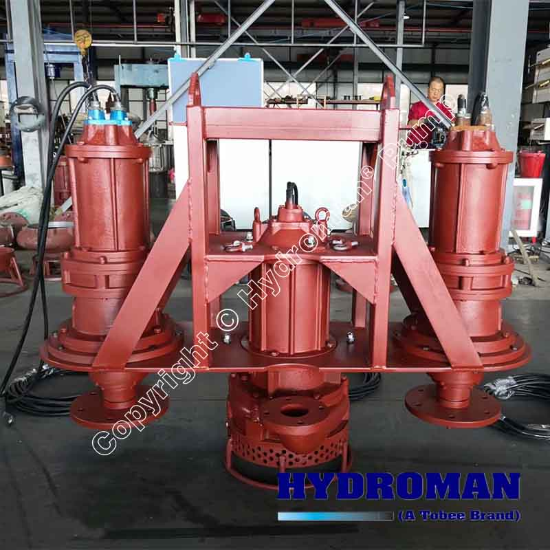 Submersible Slurry Pump with Agitators