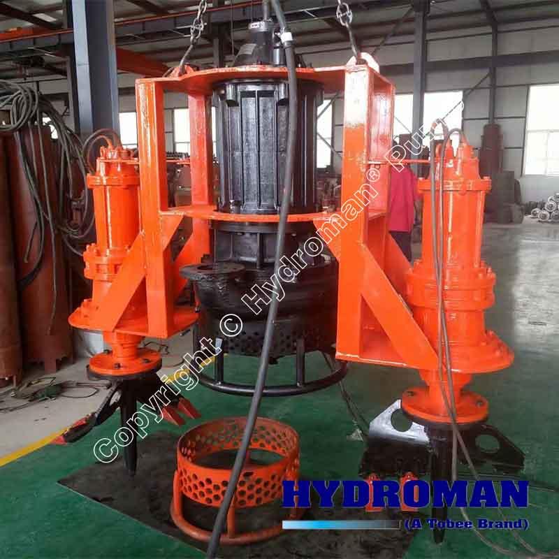 Agitator Submersible Dredging Pump