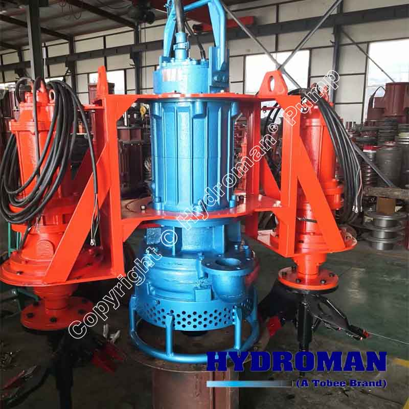 Electric Agitator Dredging Pump with Cutter Heads