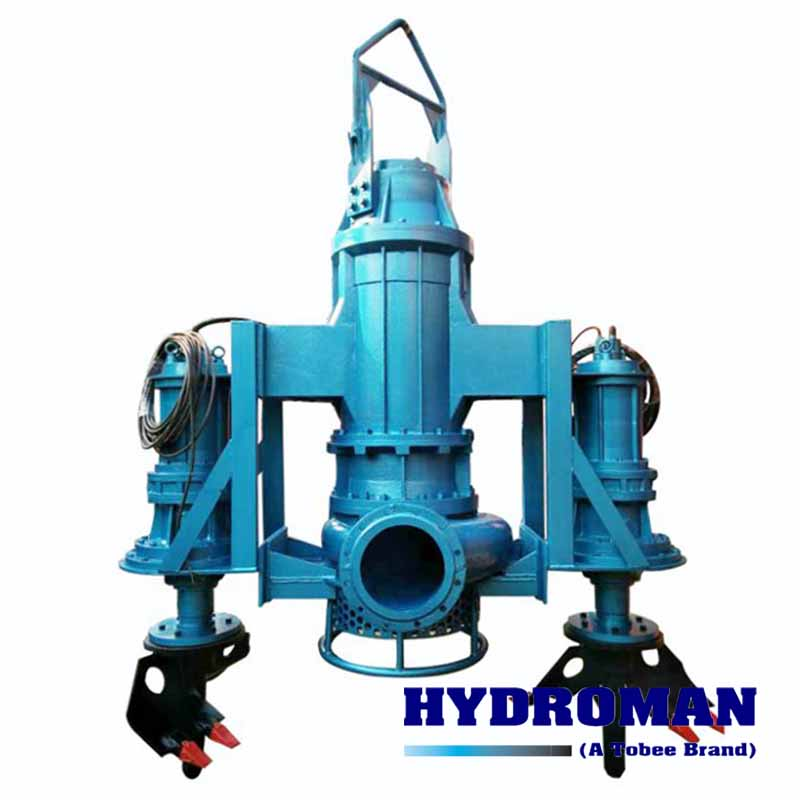 Submersible Dredge Pump with Agitators