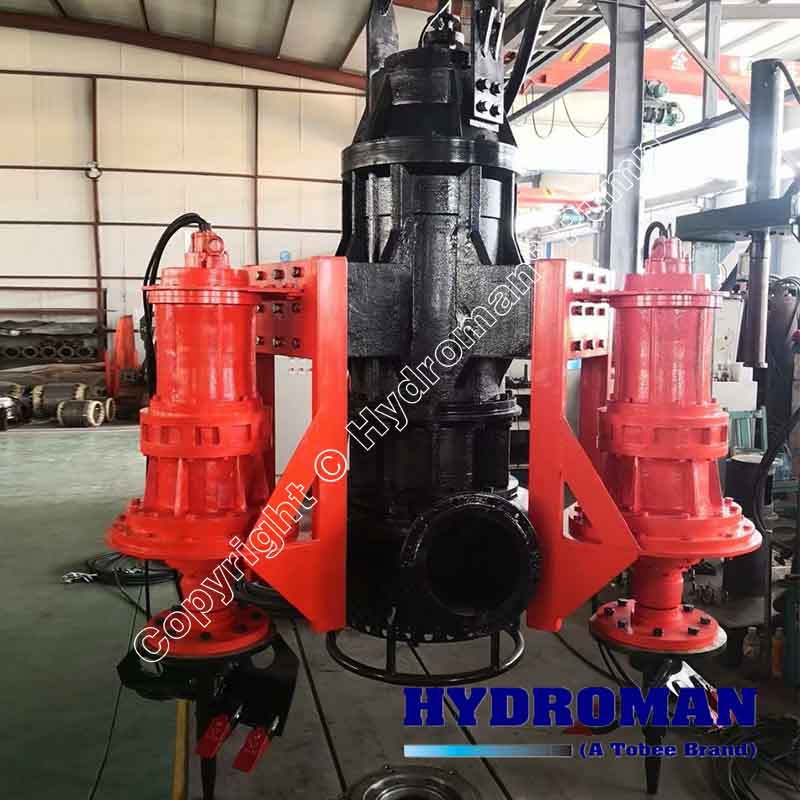 Submersible Dredge Pump with Agitators