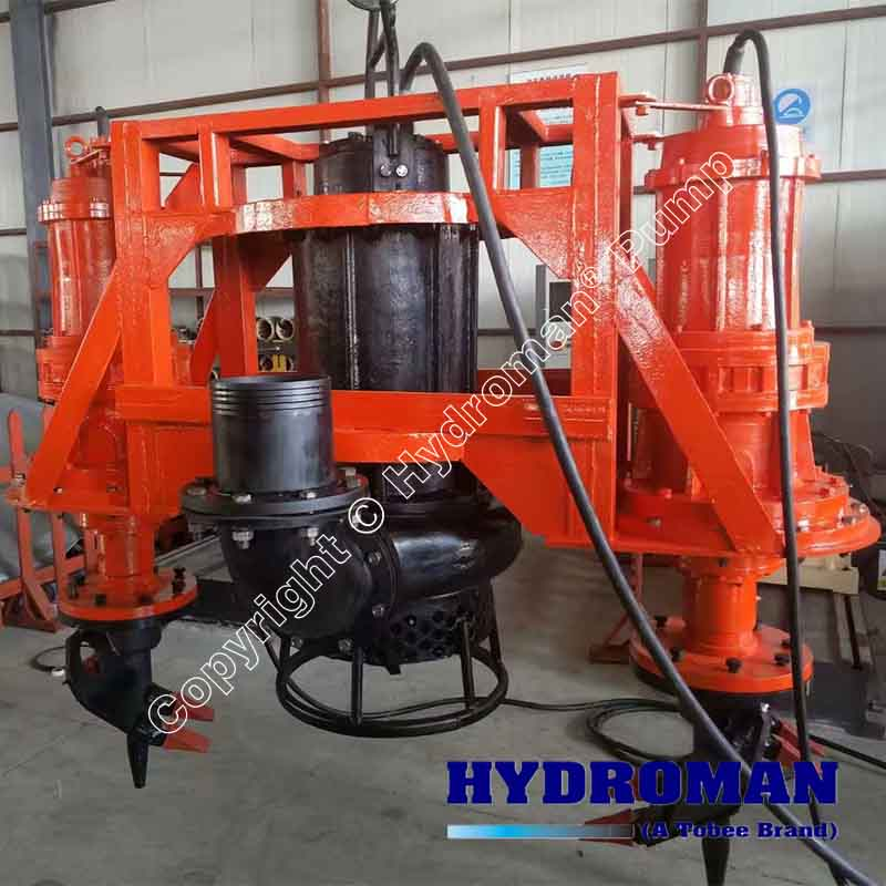 Submersible Agitator Dredge Pump