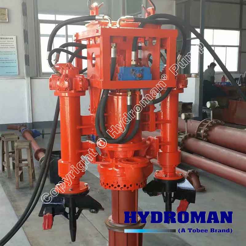 Hydraulic Dredge Pump with Diesel Driven Hydraulic Power Pack