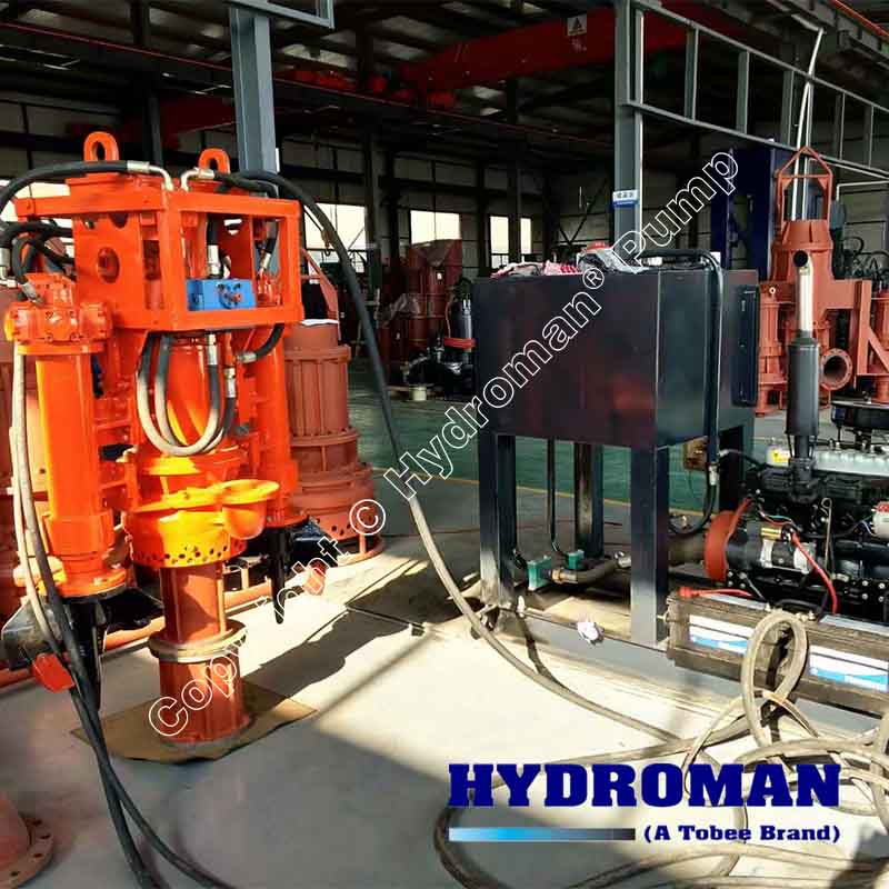 Dredge Pump with Hydraulic Power Pack