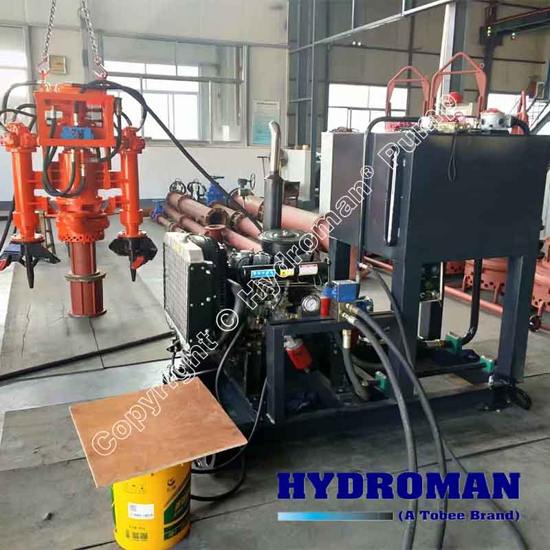 Hydraulic Power Pack Dredge Pumps