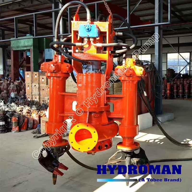 Hydraulic Submersible Sand Pump