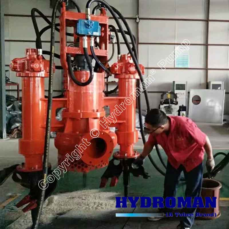 Hydraulic Submersible Sand Pump for Excavators