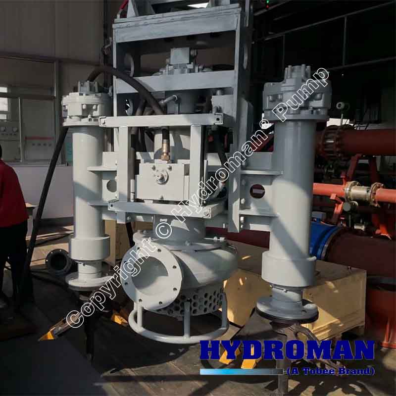 Hydraulic Submersible Sand Gravel Pump