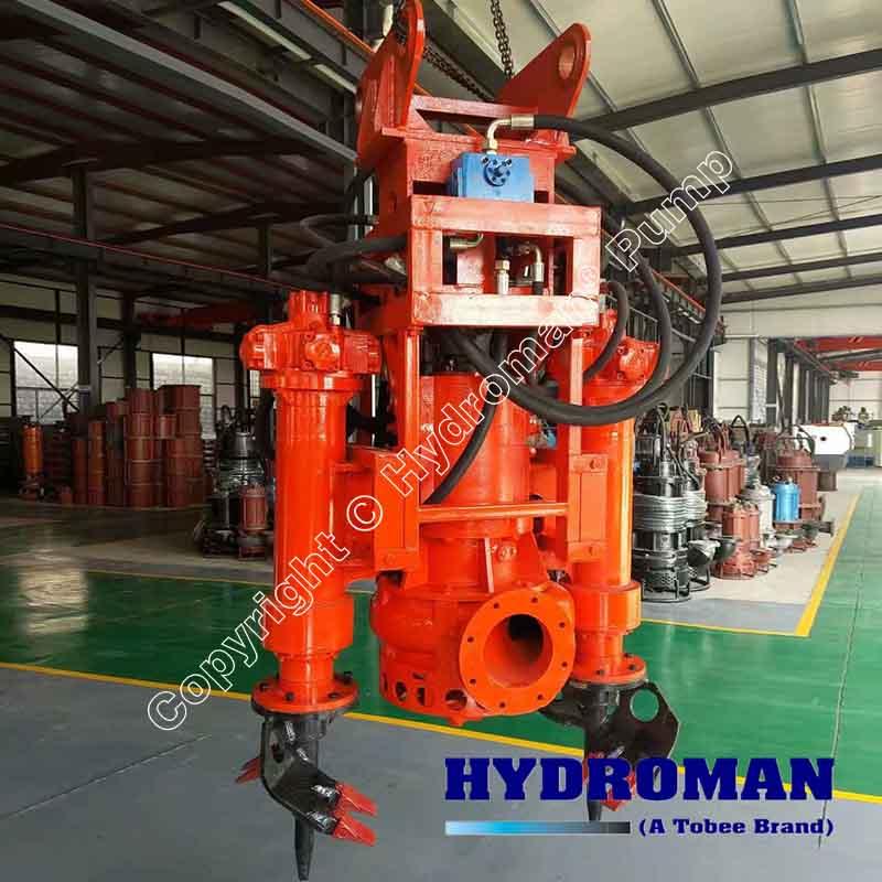 Hydraulic Submersible Agitator Dredge Pump