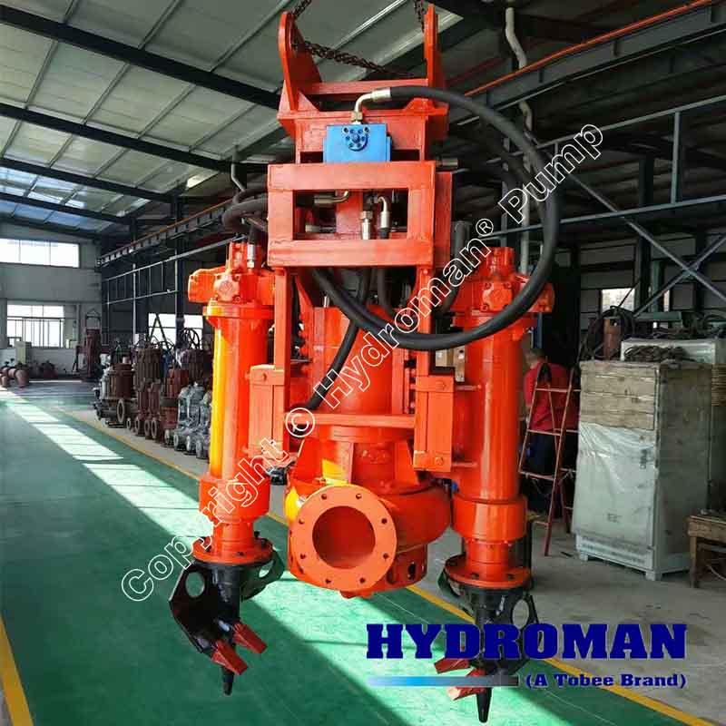 Hydraulic Agitator Dredge Pump
