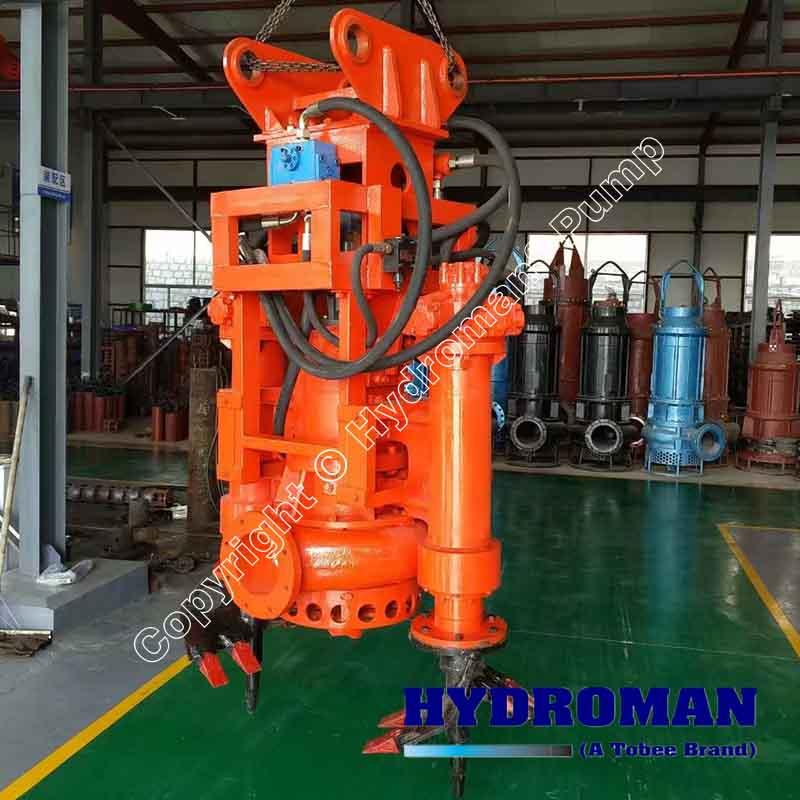 Hydraulic Submersible Sand Dredge Pump