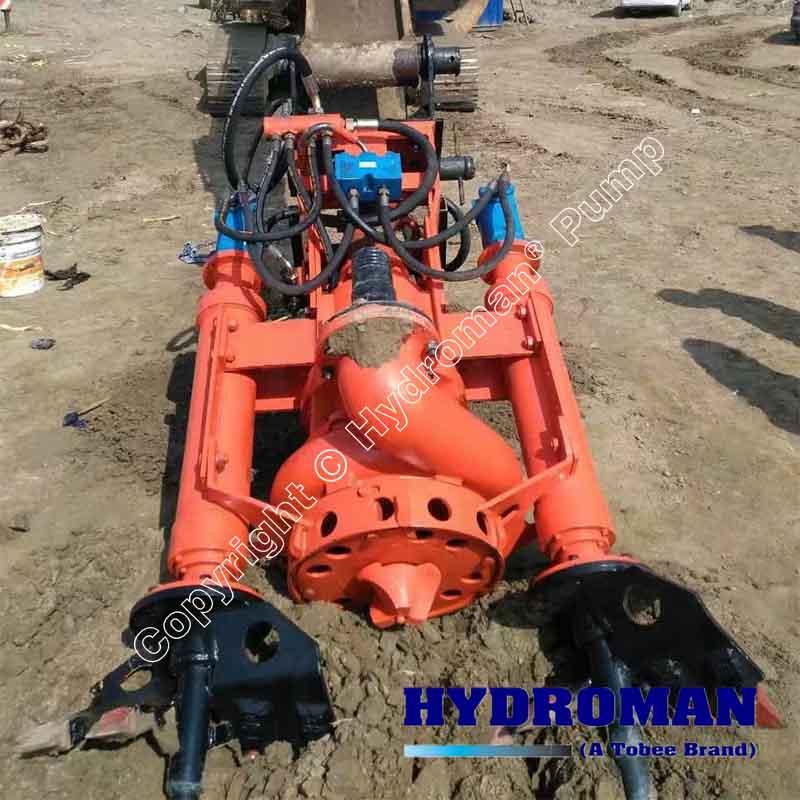 Hydraulic Dredge Pump with Agitators