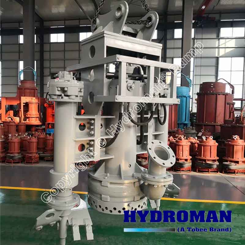 Hydraulic Excavator Mounted Submersible Pumps